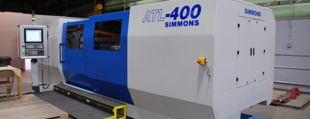 Simmons CNC Axle Lathe