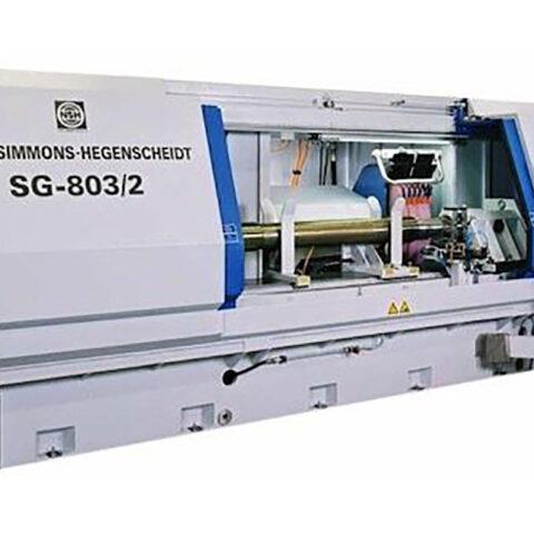 Niles-Simmons SG-803/2 Retificadora de Eixos CNC