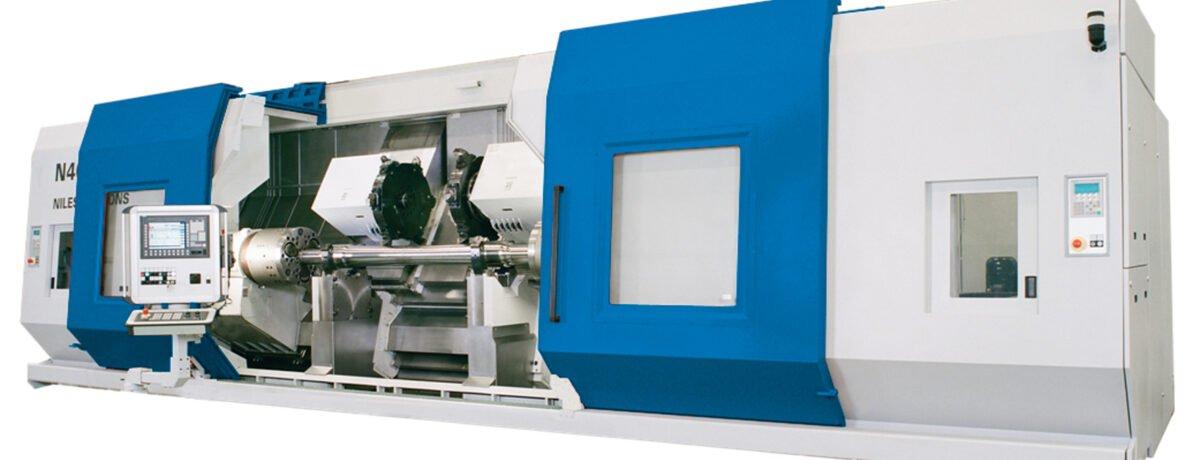 Niles-Simmons N40 CNC Axle Lathe