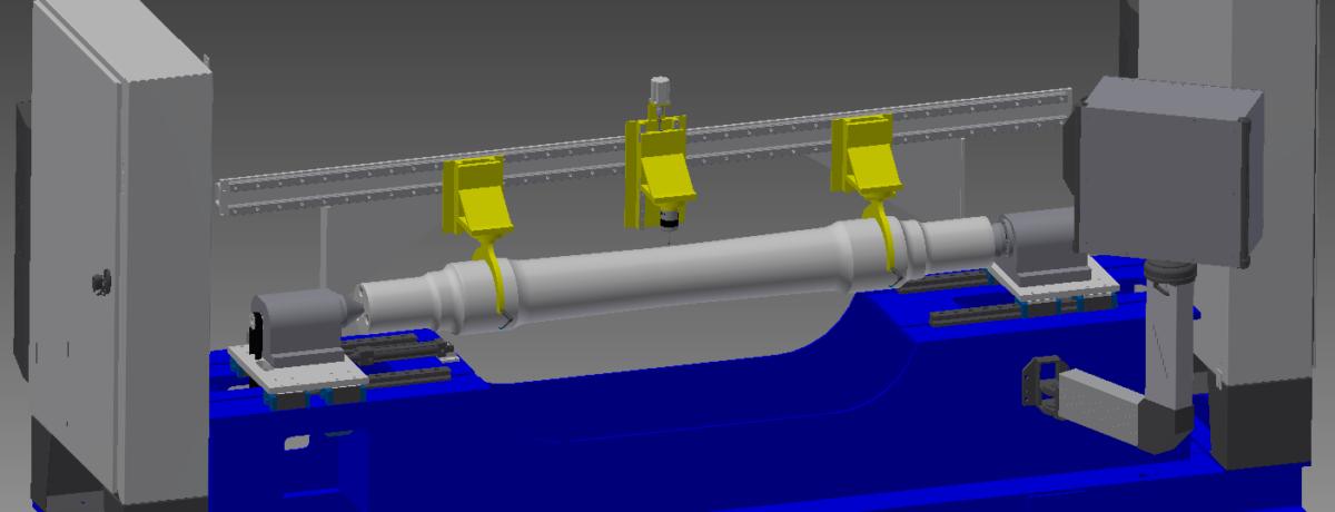 Railway Axle Measurement System