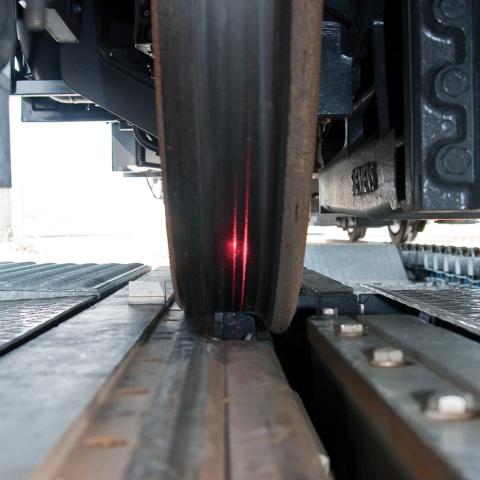 Sistema de inspección del conjunto de ruedas ARGUS II