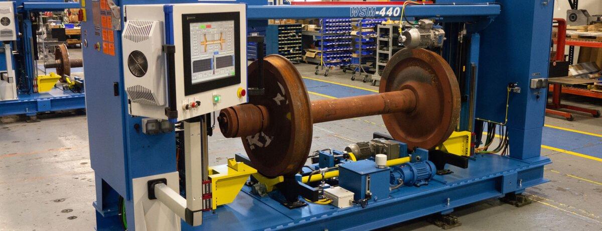 Railway Wheel Set Measurement System