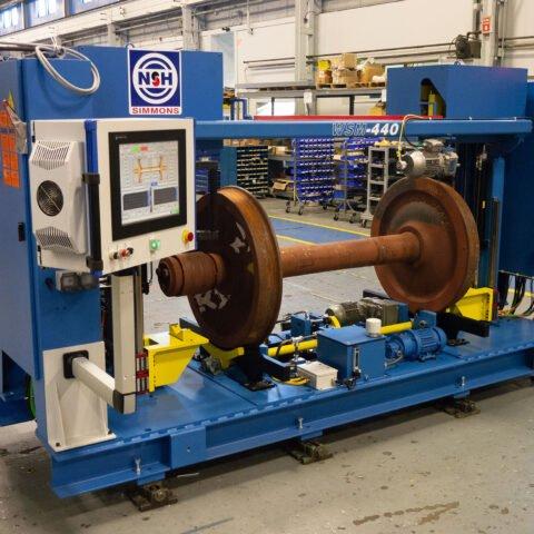 Sistema de medición del conjunto de ruedas WSM-440