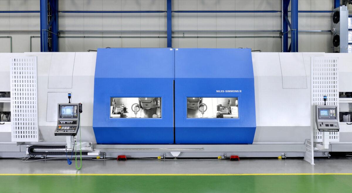 Niles-Simmons N30MC CNC turn-mill