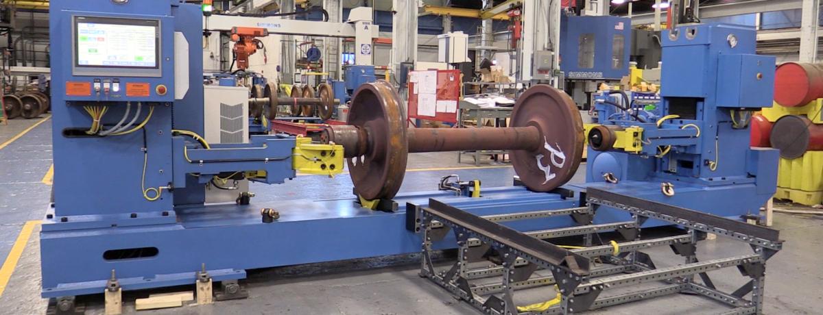 Railway Bearing Demount Press