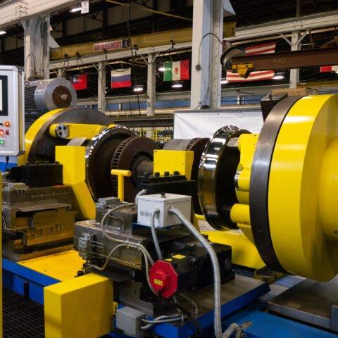 SWL-400 CNC Wheel Lathe