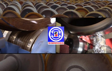 Railway Wheel Set Maintenance: Milling and Turning Technologies Video
