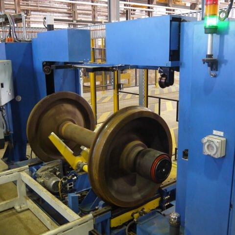 Sistema de medición del conjunto de ruedas WSM-420