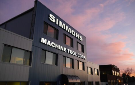 A sede da Simmons em Albany, Nova York, tem um novo visual
