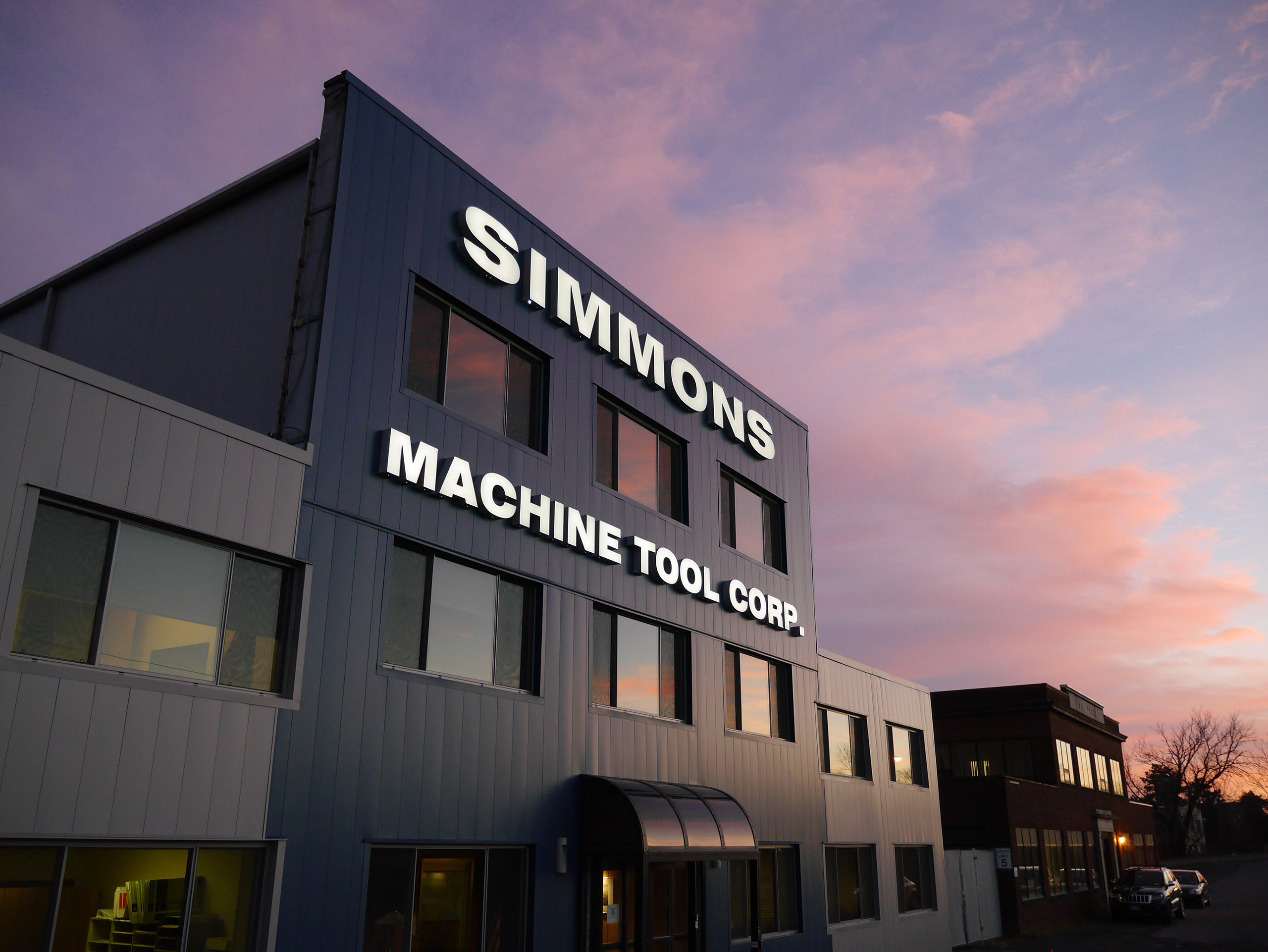 Simmons' updated manufacturing facility in Albany, NY, USA