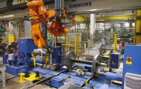 Simmons Wheel Shop Automation Featured in Railway Gazette International