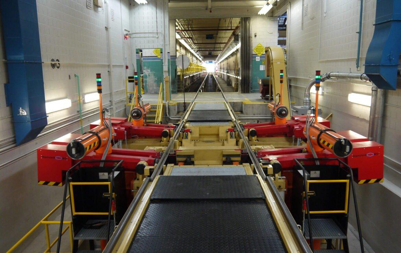 Simmons Installs TTC's First Tandem Underfloor Wheel Lathe Machine