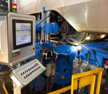 Восстановленный станок для фрезерной обработки колес Stanray TN-84C
