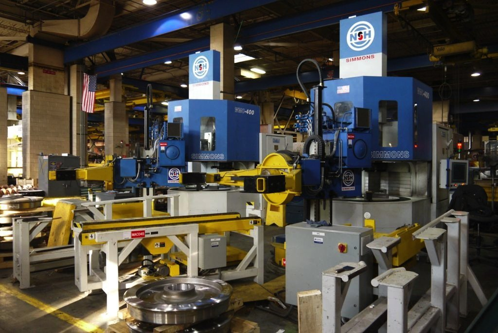 Wheel Boring Machine Wheel Manipulator
