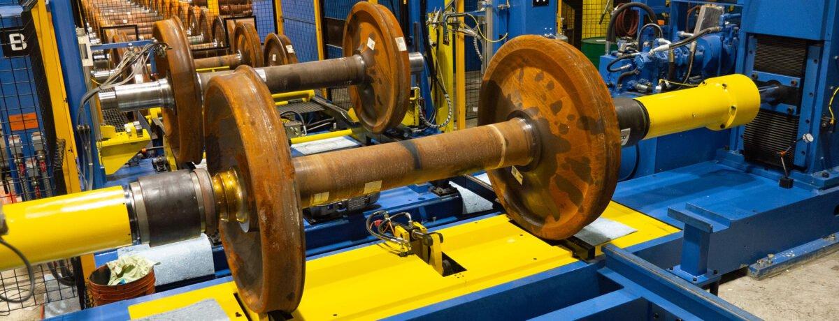 Automated Bearing Mount Press