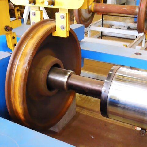 DDP-600 Wheel Demount Press
