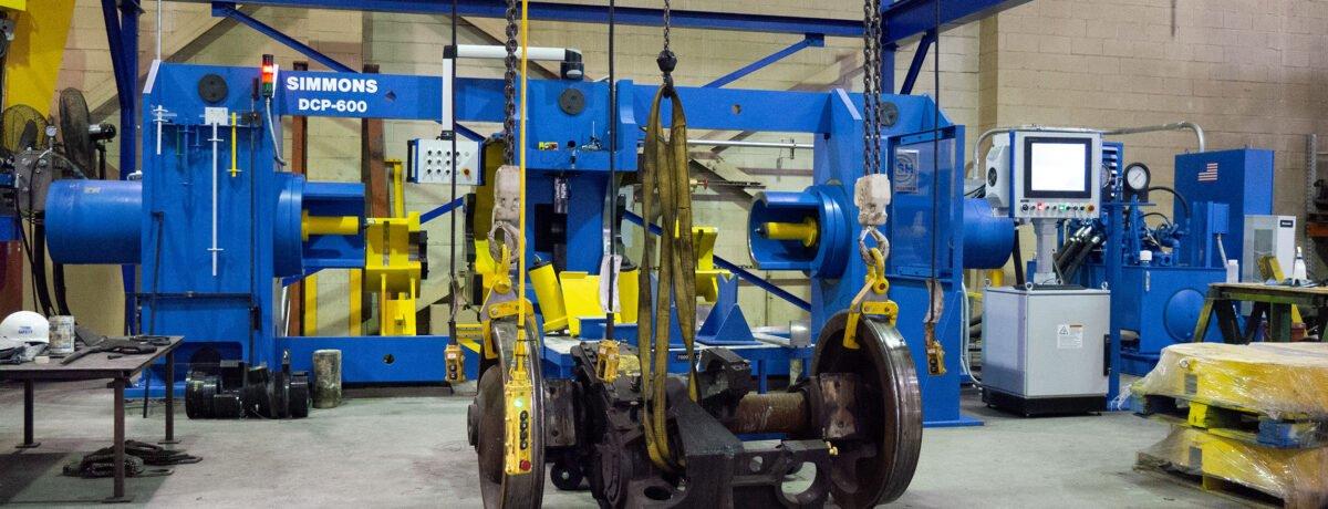 Wheel Press: DCP-600 Dual End Combination
