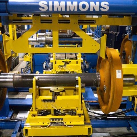 Prensa de montaje y premonto de la rueda SMP-200