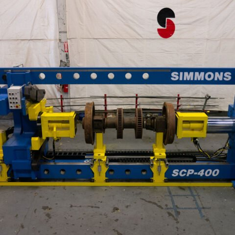 SCP-400 Single End Combination Wheel Press