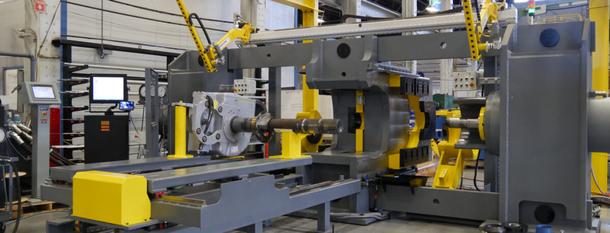 Simmons Wheel Press: The DCP-400/600 Dual End Combination Press
