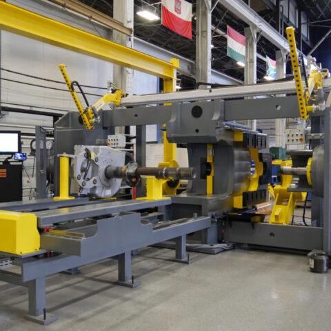 DCP-400/600 Dual End Combination Wheel Press