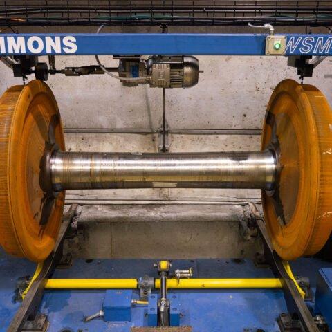 Estación de inspección y desgaste del conjunto de ruedas WSM-410