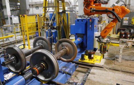 Progressive Railroading Article on Wheel Shop Automation and Improving Railway Maintenance Operations