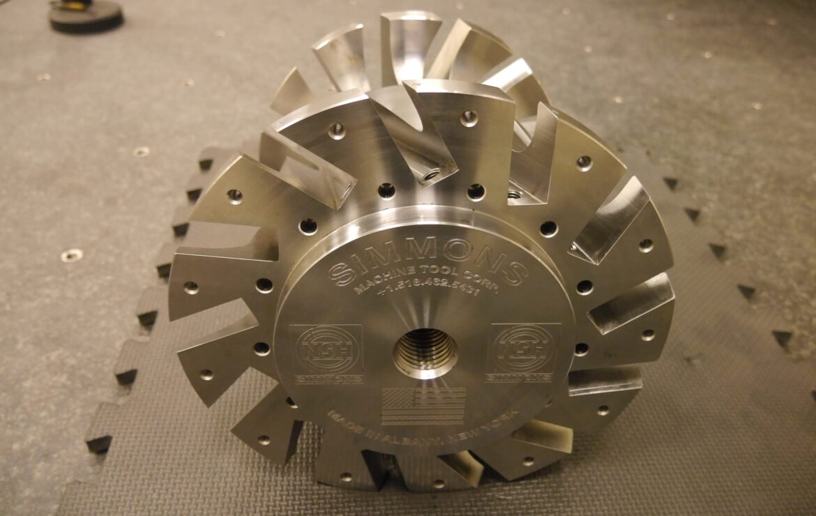 Product Development: The Stanray Milling Cutter Body