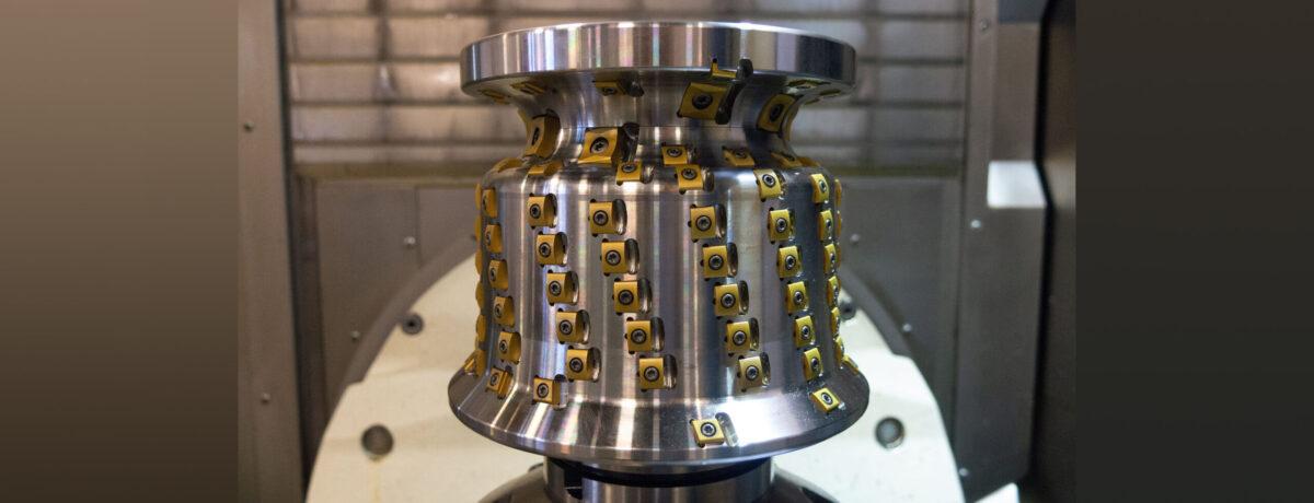 Wheel truing machine milling cutter