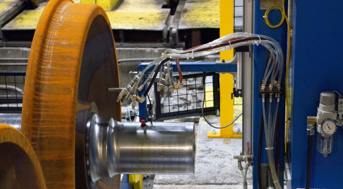 Wheel set lubrication system